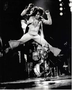 James Brown. ☀ You know where he's going with this, right?!  Yes, down into the splits...YOUCH, is what I say - good and LOUD!