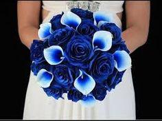 Resultado de imagen para ramo de flores azules