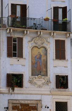 Roma, Madonna en la Piazza della Rotonda, province of Rome, Lazio region. Italy