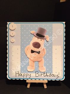 Handmade Boofle Card