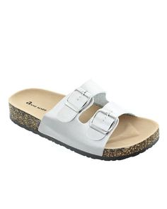 Glory-2 Double Strap Sandal, Silver / 6, Shoes -- Cents Of Style - 1