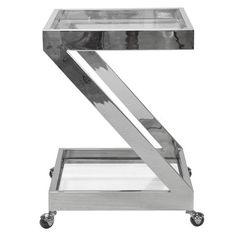 Worlds Away Lenox Bar Cart - Matthew Izzo Home