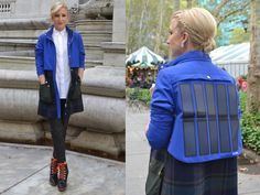 Tommy Hilfiger's Solar-Powered Jacket. While other brands in the fashion and retail space are aligning themselves with devices that measure physical activity or provide communication from your wrist, Tommy Hilfiger's first foray into the wearable tech world comes in the form of two solar-powered jackets released for the holiday 2014 season. - Wearable Tech in Review