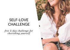 Join the FREE Self-Love challenge! This self-love challenge is for the woman who's ready to build and nurture a more loving relationship with herself. Spiritual Practices, Spiritual Growth, Anxiety Relief, Stress And Anxiety, Spiritual Inspiration, Yoga Inspiration, Stress Relief Tips, Love Challenge, Self Care Activities