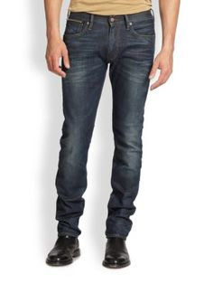 Ralph Lauren Slim Fit Spar Jeans   Pants, Clothing and Workwear