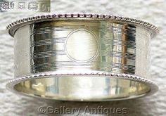FOR SALE #Antique #Sterling #Silver Napkin Ring Birmingham, 1915 £42.50 #followvintage #etsy