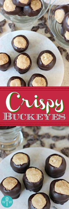 Crispy Buckeyes – De