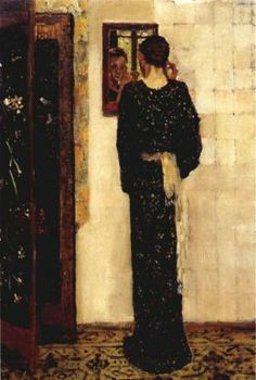 George Hendrik Breitner - The Earring, 1893