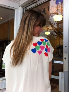 The back of the Silk Love Blouse. Isn't it darling!!?