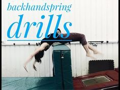 10 drills for backhandspring! - YouTube