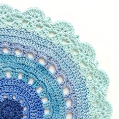 Beautiful crochet doily using super soft @nurturingfibres #ecofusion cotton and bamboo mixed hand dyed yarn. Made by the super talented Anneke from @crochetinpaternoster Have a look at her feed and blog for some really inspiring crochet  repost from @crochetinpaternoster Thanks Anneke.  Coming soon to Australia. See @scaapi for European stockists.  #nurturingfibres #ecofusion #cottonandbamboo #handdyedyarn #crochet #crochetersofinstagram #doily #crochetdoily #crochetmandala…