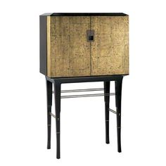 Baker Furniture : Kiosk Butlers Cabinet - 4070 : Bill Sofield : Browse Products