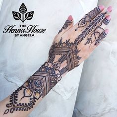 Another look at the gorgeous henna I did for @kundanhenna