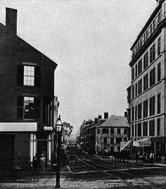 Adams lived at the corner of Tremont and Boylston Streets, Boston, 1806–1809 [89]