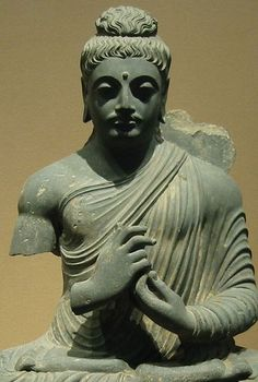Pakistan (Gandhara) - 2nd cent. Vajra Mudra (Tokyo National Museum)
