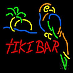Tiki Bar Neon Sign 24 Tall x 24 Wide x 3 Deep, is 100% Handcrafted with Real Glass Tube Neon Sign. !!! Made in USA !!!  Colors on the sign are Green, Yellow, Blue, Orange and Red. Tiki Bar Neon Sign is high impact, eye catching, real glass tube neon sign. This characteristic glow can attract customers like nothing else, virtually burning your identity into the minds of potential and future customers. Tiki Bar Neon Sign can be left on 24 hours a day, seven days a week, 365 days a year...
