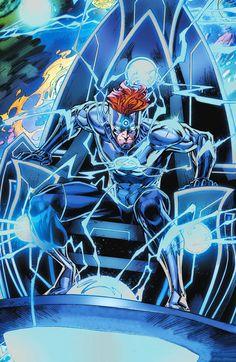 Flash Comics, Dc Comics Heroes, Arte Dc Comics, Kid Flash, Wally West Rebirth, Comic Books Art, Comic Art, Foto Flash, Dr Manhattan
