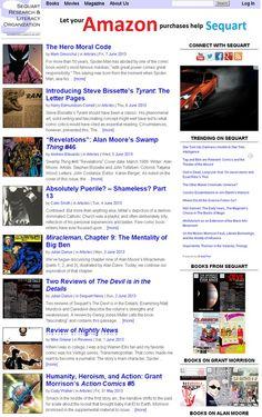 Sequart Research & Literacy Organization | advancing comics as art