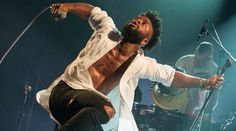 Young Fathers ignite a sleepy Tuesday night in Oxford http://www.gigsoup.co.uk/reviews/gigs/live-music-young-fathers-o2-academy-oxford-2nd-june-2015/?utm_content=buffer6fe59&utm_medium=social&utm_source=pinterest.com&utm_campaign=buffer YOUNG FATHERS Ninja Tune Big Dada