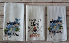 Divide a Drawer with a Drawer Divider and Store Dish Towels Whimsical Kitchen, Decorative Hand Towels, Flag Country, Bass Fishing, Fishing Tips, Christmas Towels, Fish Illustration, Fishing Pictures, Fish Drawings