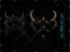Instant Files Baroque Headpiece ©DnZGraphic
