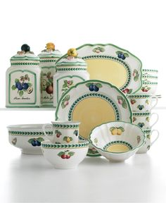 Villeroy & Boch Dinnerware, French Garden Collection - Dinnerware - Dining & Entertaining - Macy's