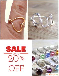 20% OFF on select products. Hurry, sale ending soon! Check out our discounted products now: https://orangetwig.com/shops/AAAE9EA/campaigns/AABe58w?cb=2015010&sn=deannewatsonjewelry&ch=pin&crid=AABe575