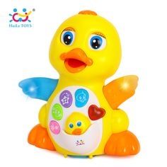 Buy  HUILE TOYS 808 Baby Toys EQ Flapping Yellow Duck Infant Brinquedos Bebe Electrical Universal Toy for Children Kids 1-3 years old ...Click link for Buy
