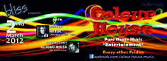 2012.03.02 Colour House FB Banner Fb Banner, House Music, Special Guest, Neon Signs, Posters, Entertaining, Colour, Pure Products, Image