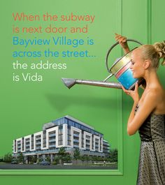 Mixed-used Vida Condos at Bayview Village is in pre-construction currently at 2-14 Cusack Court.
