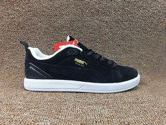 5def56bac7 Acheter Homme Puma Suede Sneakers Noir Blanche En ligne