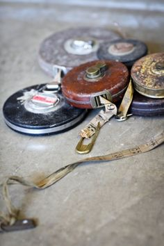Vintage tape measures!