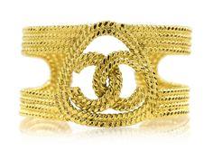 Chanel Vintage Braided Cuff