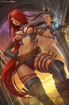 ArtStation - fantasy girls, Boris Dyatlov