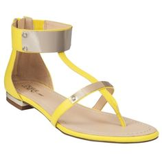Prabal Gurung for Target - Flat Sandals in Blazing Yellow