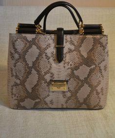 Dolce & Gabbana snake leather bag #purses #handbags diy # trended #fashion #slingbag #belk #stylish #handbag #2013 #women #furla #zara #givenchy #channel #dolce #gabbana #valentino