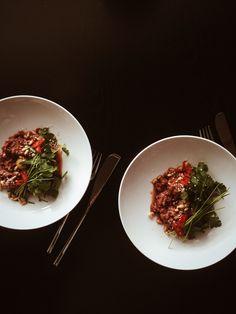 Beef tartare — REDDISH