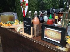 """Paradise Bar Services at the David Tutera Unveiled filming for Wed Star event! Creating handcrafted cocktails #farmtobar Watch David Tutera, the Party Planner """"Unveiled"""" on #WEtv"""