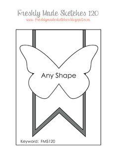 Bettys Crafts: Hochzeitsserie mit Schmetterling in Grau-Rosa - Hochzeitseinladung