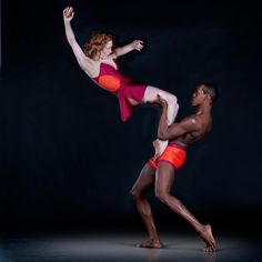 Alvin Ailey Inspiration with Megan Jakel and Marcus Jarrell Willis. Photography by Richard Calmes