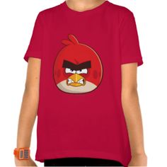 Upgrade your style with Red t-shirts from Zazzle! Search for your new favorite t-shirt today! Bird Design, Angry Birds, Shirt Style, Your Style, Shirt Designs, Nerd, Geek Stuff, Eggs, Touch