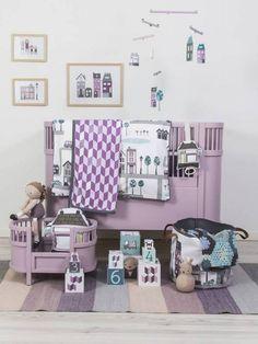 Kili bed and matching doll bed from Sebra. Danish design. Beautiful girls  room! 03f418aadaa5f