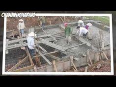 Làm móng nhà - ép cọc bê tông nhà dân - Xây nhà móng bè ép cọc tre