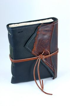 Wild West Leather Journal Handcrafted in Indianapolis, Indiana by Binding Bee