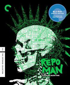 Amazon.com: Repo Man (Criterion Collection) [Blu-ray]: Harry Dean Stanton, Emilio Estevez, Alex Cox: Movies & TV
