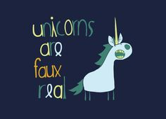"""Faux Real"" - Threadless.com - Best t-shirts in the world"