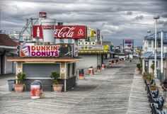 Seaside Heights Boardwalk by LennyNJ, via Flickr Seaside Heights Boardwalk, Seaside Park, Jersey Girl, New Jersey, Travel Channel, Vacation, Everything's Alright, Adventure, Places