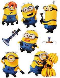 Minion Party Bags, Minion Party Invitations, Bolo Super Man, Minion Stickers, Minions 1, Minion Birthday, Despicable Me, Cute Quotes, Happy Planner