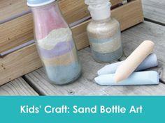 Easy Kids' Craft Idea: How To Make Sand Bottle Art | Jolly Mom: Recipes | Crafts | Atlanta Mom Blogger | Brand Ambassador | Product Reviews