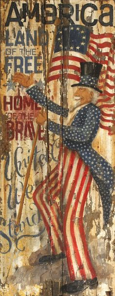CWP-US - NEW!<br> Uncle Sam Board Sign                                                                                                                                                                                 More